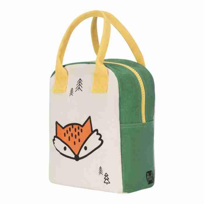 Fluf - Zipper Lunch Bag - Fox