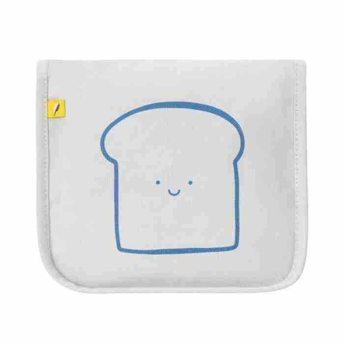 Fluf - Snack Mat - Happy Bread Blue