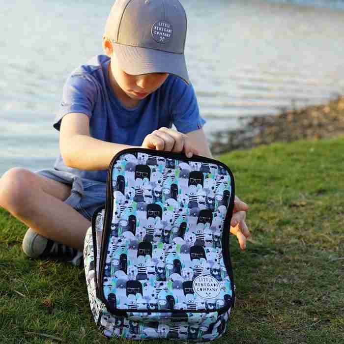 Little Renegade - Insulated Lunch Box - Bears and Beasties