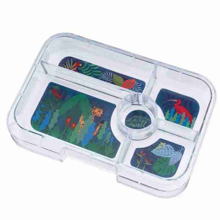 Yumbox - Tapas 5C Tray - Jungle